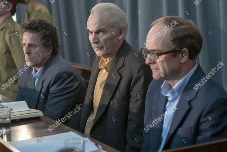 Con O'Neill as Viktor Bryukhanov, Paul Ritter as Anatoly Dyatlov and Adrian Rawlins as Nikolai Fomin