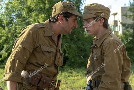 Fares Fares as Bacho and Barry Keoghan as Pavel
