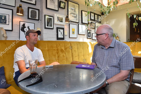 Jonathan Trott Who Is To Retire From Cricket Completely At The End Of The Season Talks To Daily Mail Journalist Paul Newman. Cricket Feature. Birmingham
