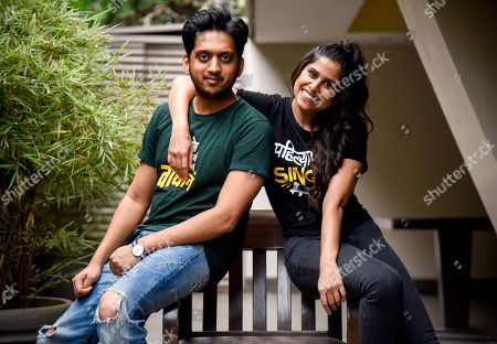 Stock Picture of Sai Tamhankar and Amey Wagh