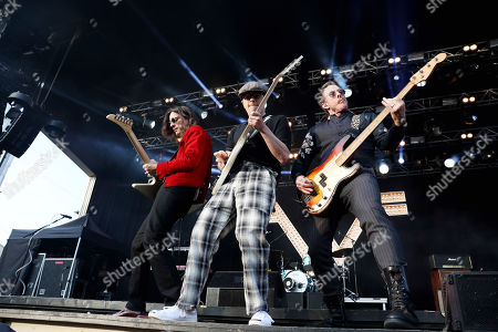 Weezer - Brian Bell, Rivers Cuomo and Scott Shriner
