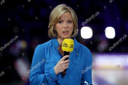 BBC Sport presenter Hazel Irvine