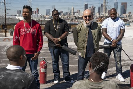 Editorial picture of 'Ballers' TV Show Season 4 - 2018