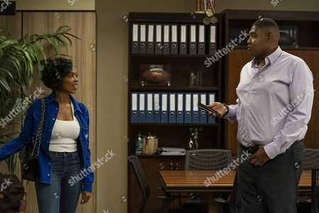 Jazmyn Simon as Julie Greane and Omar Benson Miller as Charles Greane