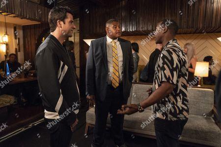 Troy Garity as Jason Antolotti, Omar Benson Miller as Charles Greane and Kris D. Lofton as Kisan