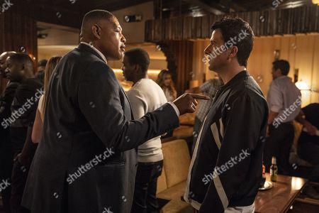 Omar Benson Miller as Charles Greane and Troy Garity as Jason Antolotti