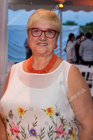 Chef Lidia Bastianich attends the 15th annual Hamptons Happening Tour De Cuisine at a private residence, in Bridgehampton, NY
