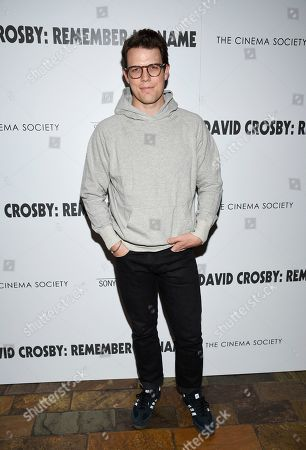 """Stock Picture of Jake Lacy attends a special screening of """"David Crosby: Remember My Name"""", hosted by Sony Pictures Classics and The Cinema Society, at The Roxy Cinema, in New York"""
