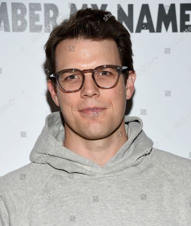 """Jake Lacy attends a special screening of """"David Crosby: Remember My Name"""", hosted by Sony Pictures Classics and The Cinema Society, at The Roxy Cinema, in New York"""