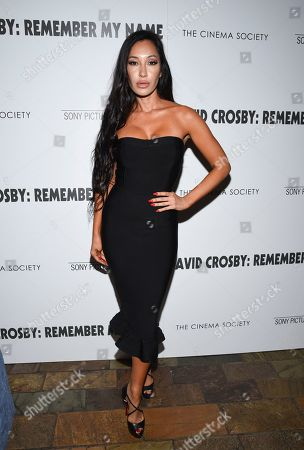 "Kea Ho attends a special screening of ""David Crosby: Remember My Name"", hosted by Sony Pictures Classics and The Cinema Society, at The Roxy Cinema, in New York"