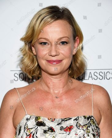 """Samantha Mathis attends a special screening of """"David Crosby: Remember My Name"""", hosted by Sony Pictures Classics and The Cinema Society, at The Roxy Cinema, in New York"""