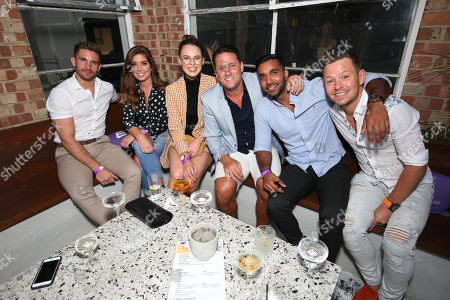 Adam Woodward, Nikki Sanderson, Jessamy Stoddart, Nick Pickard, Rishi Nair and Adam Rickitt.