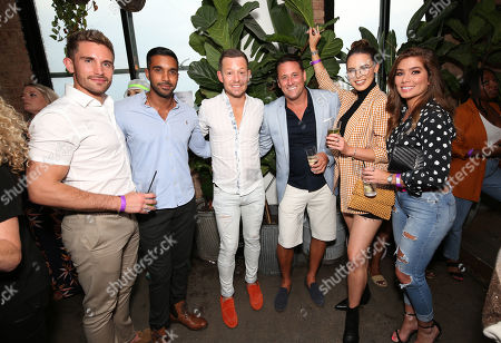 Adam Woodward, Rishi Nair, Adam Rickitt, Nick Pickard, Jessamy Stoddart and Nikki Sanderson.