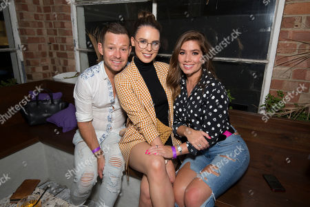 Adam Rickitt, Jessamy Stoddart and Nikki Sanderson