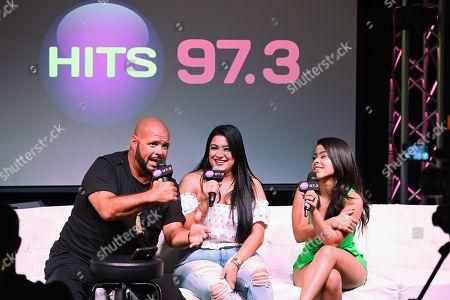 DJ Laz, DJ Janetzy and Cierra Ramirez