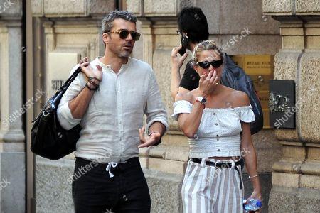 Luca Argentero and Cristina Marino