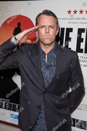 Editorial photo of 'The Edge' film premiere, London, UK - 17 Jul 2019