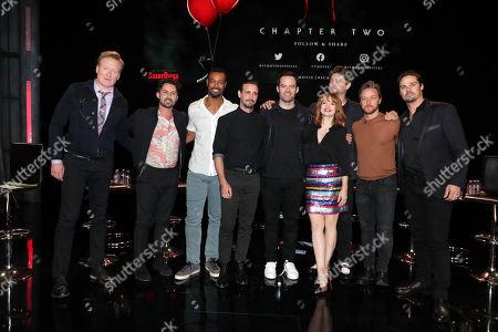 Conan O'Brien, Andy Bean, Isaiah Mustafa, James Ransone, Bill Hader, Jessica Chastain, Andy Muschietti, Director, James McAvoy, Jay Ryan