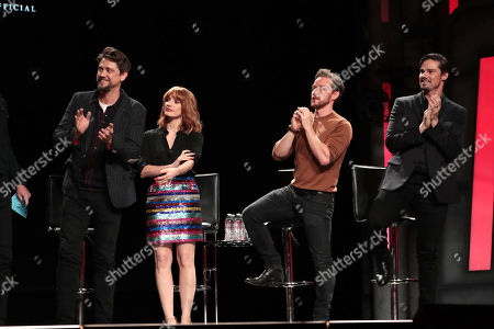 Andy Muschietti, Director, Jessica Chastain, James McAvoy, Jay Ryan