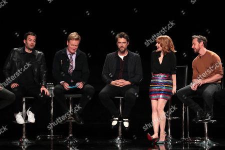 Bill Hader, Conan O'Brien, Andy Muschietti, Director, Jessica Chastain, James McAvoy