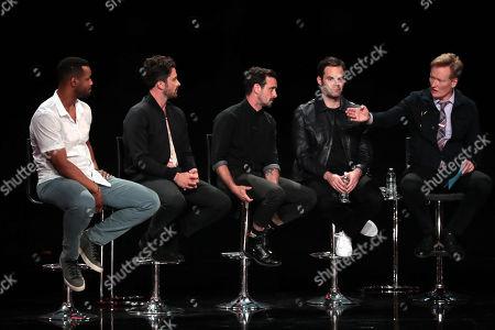 Isaiah Mustafa, Andy Bean, James Ransone, Bill Hader, Conan O'Brien