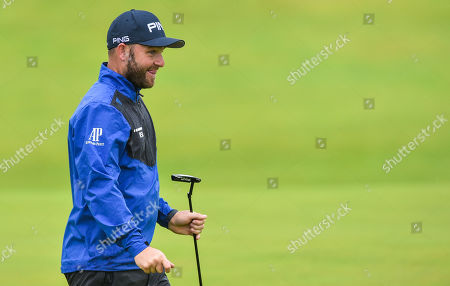 Andy Sullivan on the 12th hole