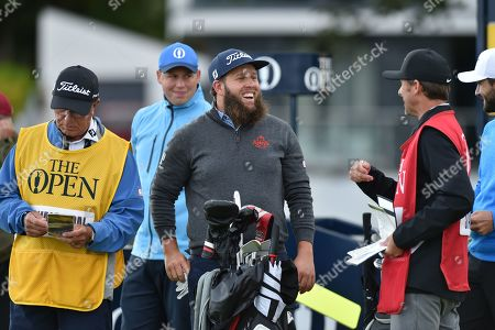 Stock Picture of Andrew Johnston of England