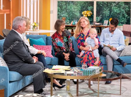 Eamonn Holmes and Ruth Langsford, Dr Ranj, Jenny Agutter, Georgina Rosoman and Albie