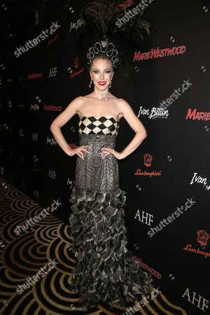 Editorial photo of Marie Westwood magazine Summer Edition launch, Los Angeles, USA - 17 Jul 2019