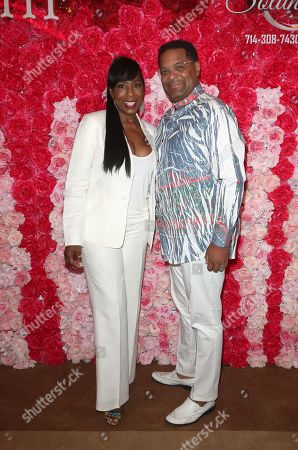 Stock Picture of Dawnn Lewis, Eamon Kennedy