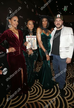 Stock Image of Rhona Bennett, Terry Ellis, Cindy Herron, Of En Vogue, Ivan Bitton