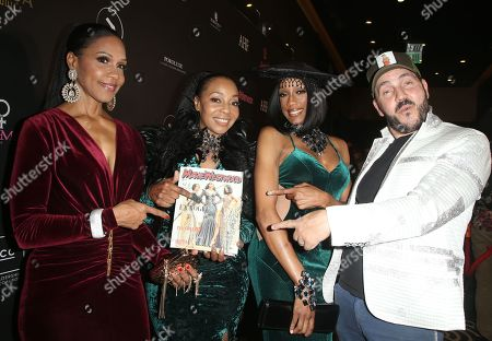 Stock Picture of Rhona Bennett, Terry Ellis, Cindy Herron, Of En Vogue, Ivan Bitton