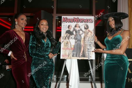 Editorial image of Marie Westwood magazine Summer Edition launch, Los Angeles, USA - 17 Jul 2019