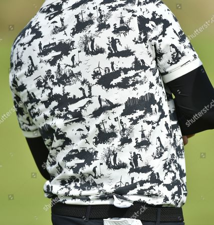 The shirt of Thomas Pieters