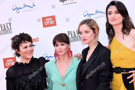 Helen McCrory, Charlene McKenna, Sophie Rundle and Natasha O'Keeffe