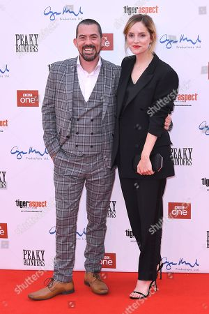 Packy Lee and Sophie Rundle