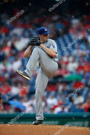 Los Angeles Dodgers' Ross Stripling pitches during a baseball game against the Philadelphia Phillies, in Philadelphia