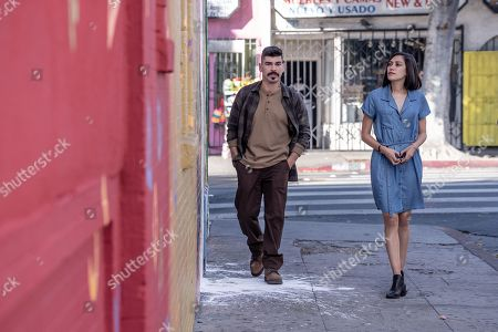 Stock Picture of Raul Castillo as Baco and Mishel Prada as Emma/Sister