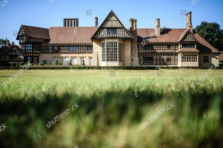 A view of Cecilienhof Palace in Potsdam, Germany, 18 July 2019. Media reports that descendants of former German emperor Kaiser Wilhelm II from the House of Hohenzollern, led by Georg Friedrich Ferdinand Prince of Prussia, are claiming the right of residence for Cecilienhof Palace. Built from 1913 to 1917, the palace was home to Crown Prince William, the son of Kaiser Wilhelm II. Later it hosted the Potsdam Conference after the end of World War II. In July and August 1945, Winston Churchill, Harry S. Truman and Joseph Stalin literally reorganized the world from there. The claims of the House of Hohenzollern might end up in court, whereas the German Foundation Prussian Palaces and Gardens, which is running the museum Cecilienhof is planning a special exhibition for next year's 75th anniversary of the Potsdam Conference.