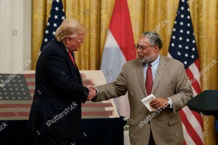 Editorial photo of Trump, Washington, USA - 18 Jul 2019