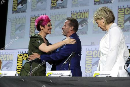 Grae Drake, Arnold Schwarzenegger