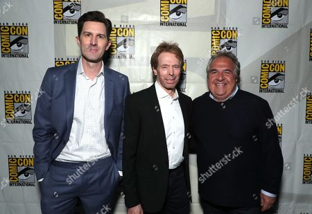Joseph Kosinski, Director, Jerry Bruckheimer, Producer, Jim Gianopulos, CEO of Paramount Pictures