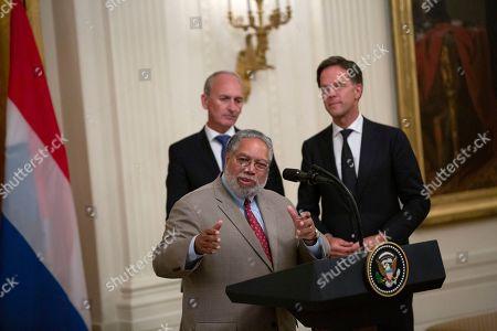 Editorial picture of Netherlands Prime Minsiter Mark Rutte visits Washington DC, USA - 18 Jul 2019