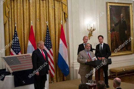 Editorial image of Netherlands Prime Minsiter Mark Rutte visits Washington DC, USA - 18 Jul 2019