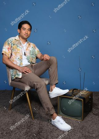 """Derek Mio poses for a portrait to promote the television series """"The Terror: Infamy"""" on day one of Comic-Con International, in San Diego"""
