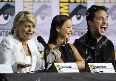 "Editorial image of 2019 Comic-Con - ""Terminator: Dark Fate"" Panel, San Diego, USA - 18 Jul 2019"