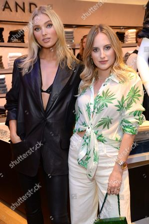 Elsa Hosk and Rosie Fortescue