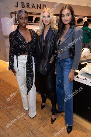 Justine Skye, Elsa Hosk and Gizele Oliveira