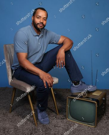 """Donald Faison poses for a portrait to promote the television series """"Emergence"""" on day one of Comic-Con International, in San Diego"""