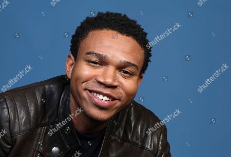"""Robert Bailey Jr. poses for a portrait to promote the television series """"Emergence"""" on day one of Comic-Con International, in San Diego"""